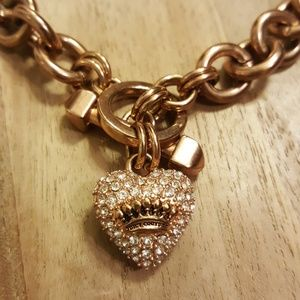 Juicy Couture necklace rose gold